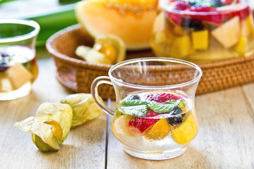 Fruits sangria