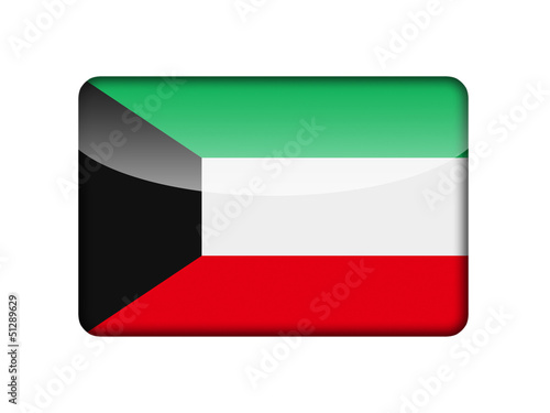 The Kuwaiti flag