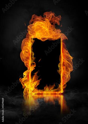 Leinwandbild Motiv fire_rama1