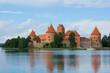 Tracai castle at Lithuania