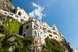 canvas print picture - Haeuser in Amalfi