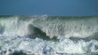 Ocean beautiful wave slow motion