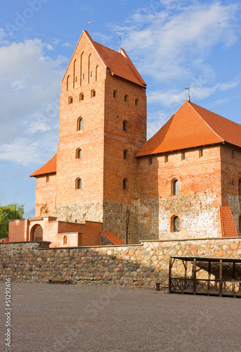 tower of Tracai castle, Lithuania