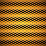 Orange Seamless Circle Perforated Carbon Grill Texture