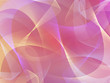 Abstract pink 3d background with ribbons