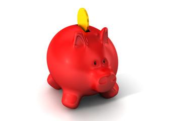 Sparschwein, Konzept Sparen