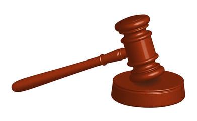 Gericht, Auktion - Holzhammer