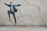 Fototapety Skater