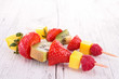 fruits kebab