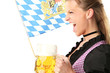 Frau in Bayern