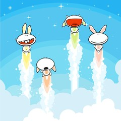 Bunnies launch