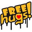 Free Hugs Graffiti