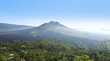 Kintamani volcano and lake batur bali