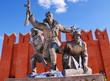 Памятник воинам-сибирякам в Подмосковье. Снегири