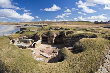 Skara Brae. Prehistoric settlement, Orkney, Scotland