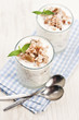 Yoghurt with muesli
