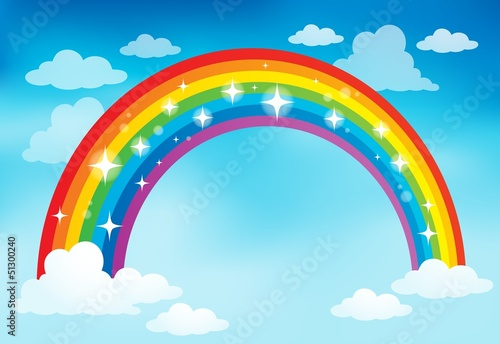 Image with rainbow theme 2