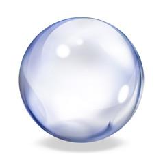 round button - indigo