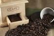 Caffè in chicchi e macinato