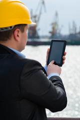Portmaster with digital tablet