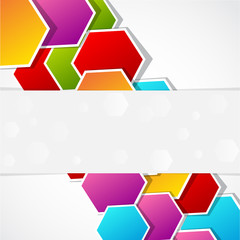 colored polygonal cover
