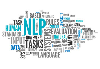 "Word Cloud ""NLP"""