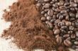 Caffè macinato e Caffè in chicchi