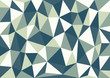Petrol blue triangles vector background