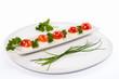 Funghetti di mozzarella e pomodoro - Appetizer
