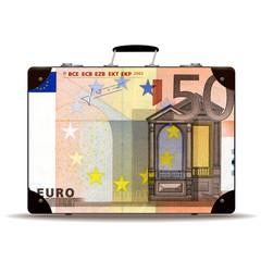 Geldkoffer 50 Euro