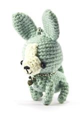 Chihuahua dog knitting doll
