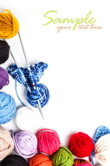 Yarn skeins
