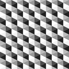 abstract monochrome geometric pattern