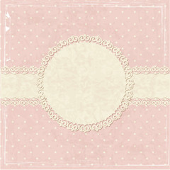 Pink vintage grunge background