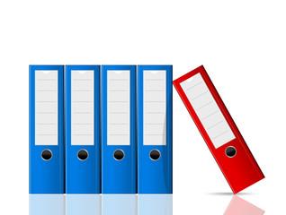 classeurs documents A4