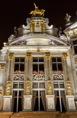 One of the Guildhalls on the Grand Place in Brussels.