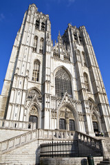 St. Michael and St. Gudula Cathedral in Brussels