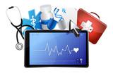 lifeline medical concept poster