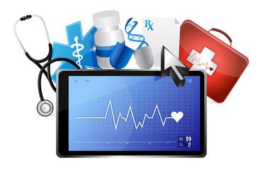 lifeline medical concept