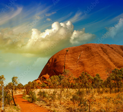 Foto op Plexiglas Canyon Wonderful Outback colors in Australian Desert