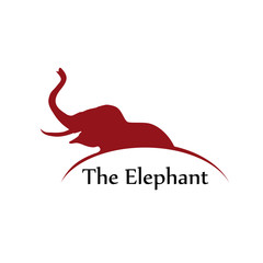 Vector Logo elephant