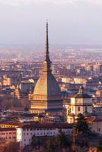 Torino (Turyn), panoramy z Kapucynów i Mole Antonelliana