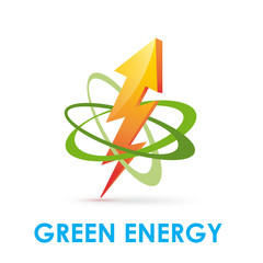Vector Logo Green Energy