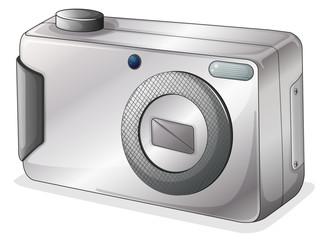 A gray camera