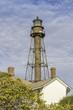 The historic Sanibel Island Lighthouse in  Florida