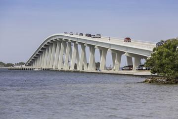 Sanibel Causeway And Bridge in Florida