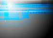 Colourful blue vector tech backdrop