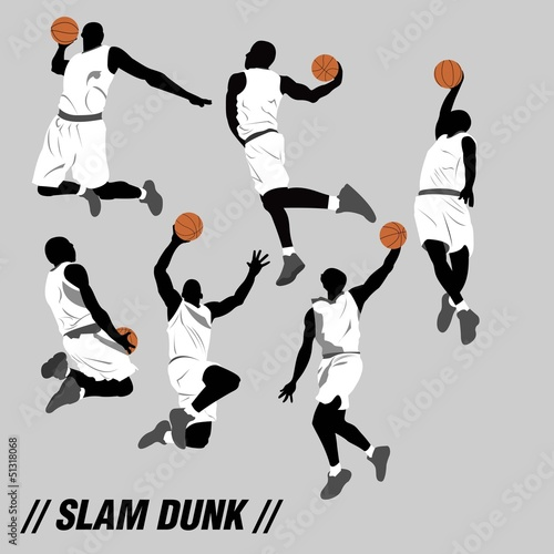 slam dunk collection with cool six pose