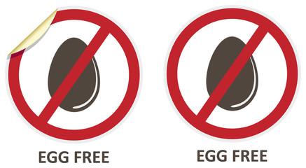Egg Free Icons