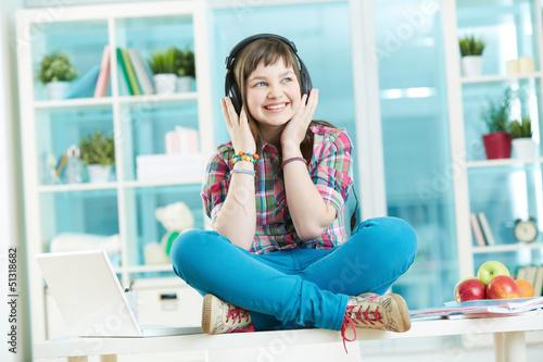 Teenage listener